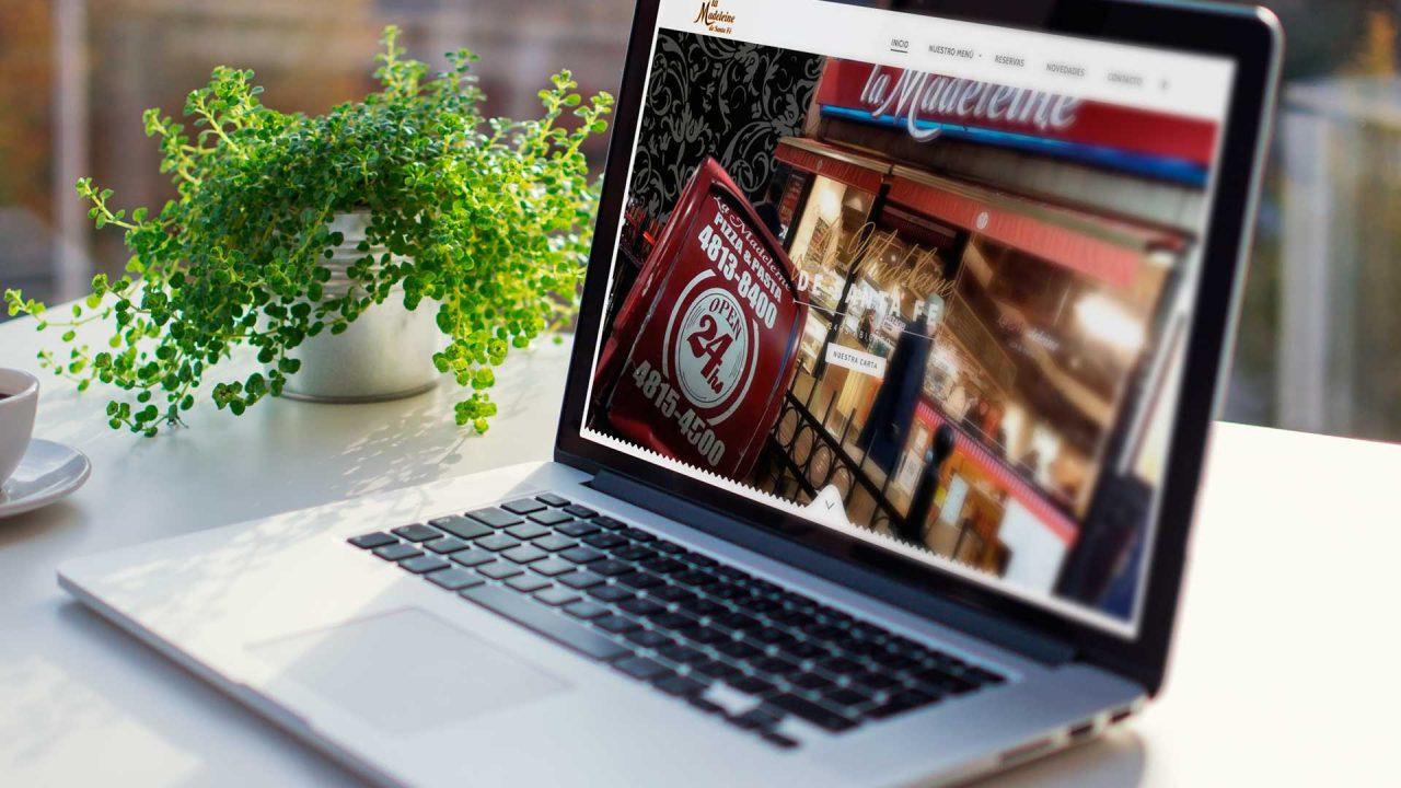 Diseño y desarrollo de menú en wordpress